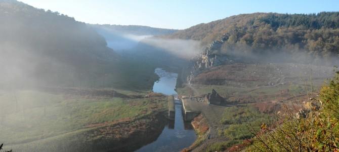 Petite balade en Bretagne – Le lac de Guerlédan… à vide !